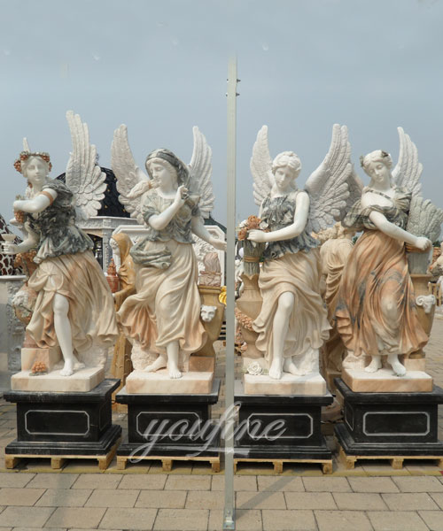 Factory Price Four Season Women Statues for decor