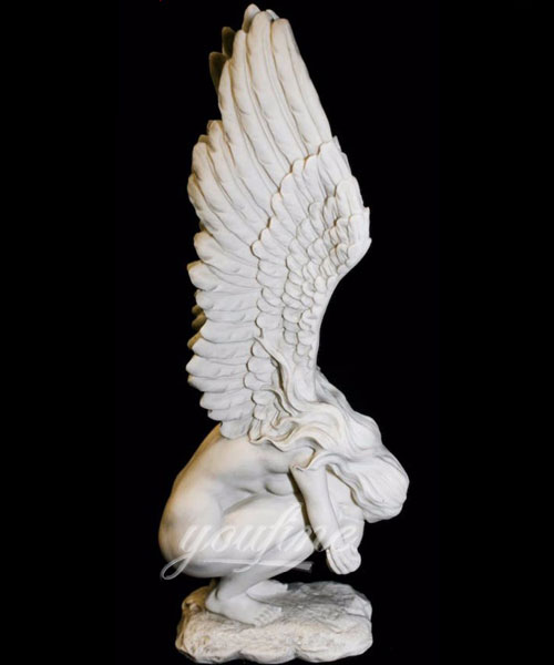 Fallen angel burial monuments design for sale