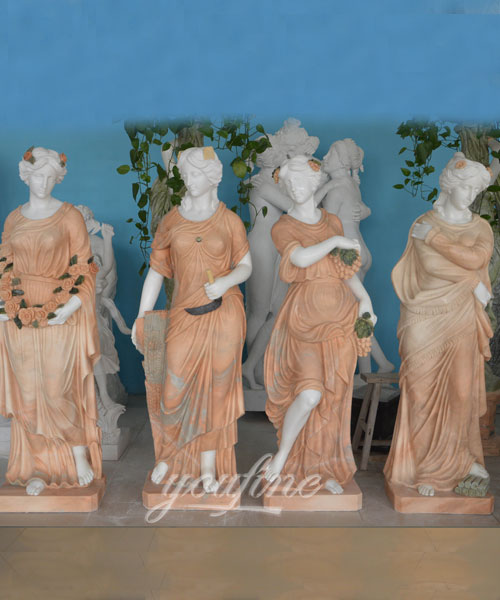 Garden Beautiful Four Season Ladies marble for outdoor decor on selling