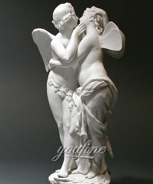 Indoor Amor und psyche statue angle statue