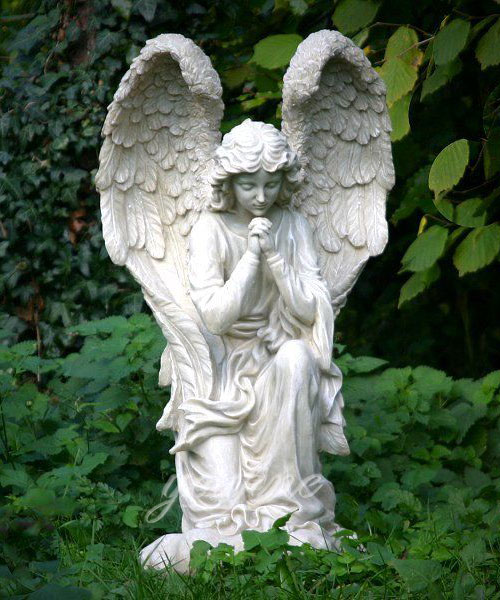 Kneeling angel statue figurines Marble Statues for decoration