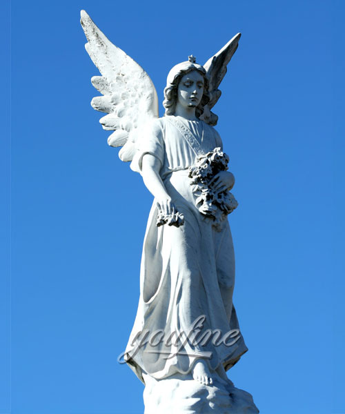 Large angel statue for decor