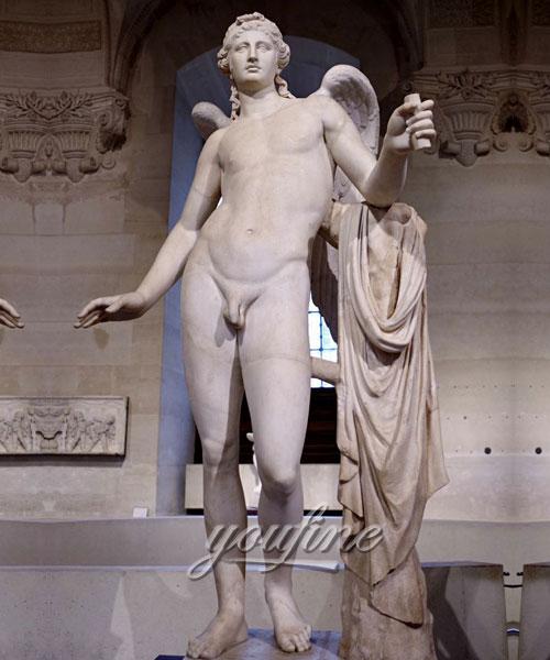 Life size Eros borghese angle statue for decor,