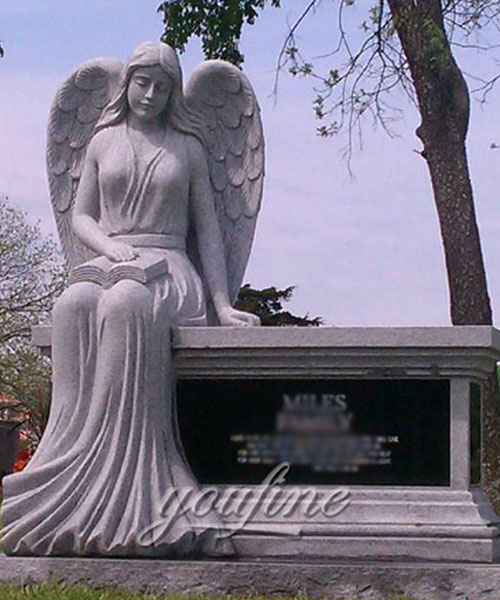 New Designs High Quality exquisite design angel burial monuments prices (2)