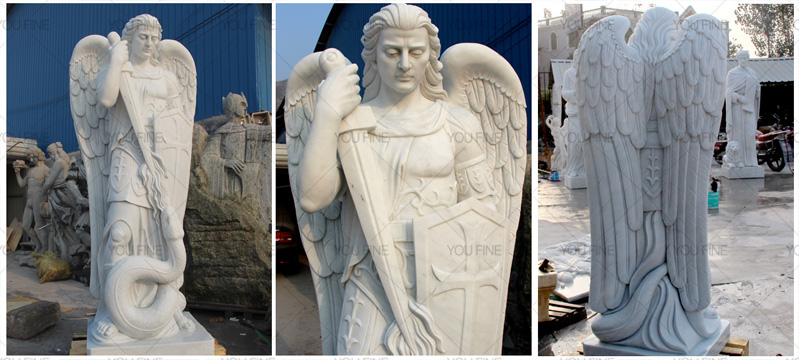 Religious-statues-of-st-michael-statues-design