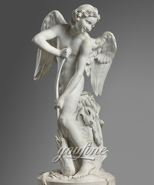 Stone angel statue marble statue for Garden