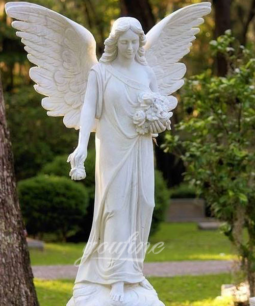 statue angel wings for decor