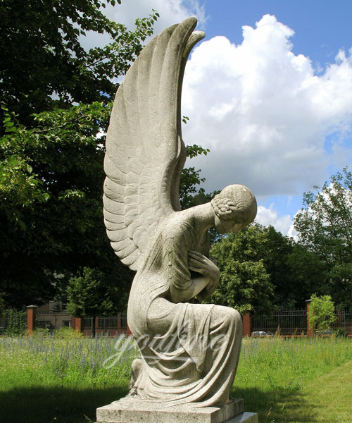 weeping angel statues for graves